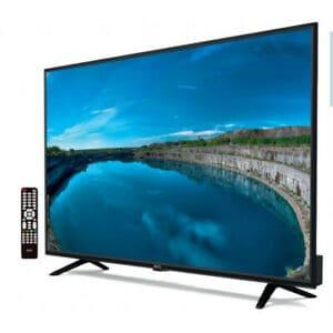 televisión con mando