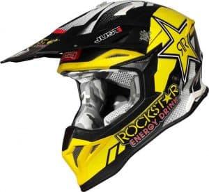 casco de motocross rockstar