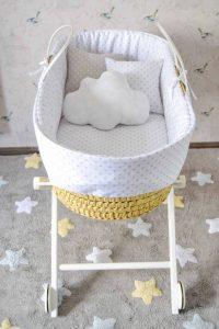 moisés para bebé con ruedas