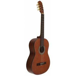 guitarra clásica marron oscuro