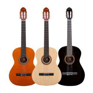 guitarra clásica de varios colores