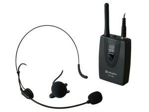 micrófono inalámbrico con petaca