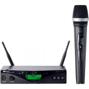 micrófono inalámbrico moderno