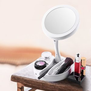 espejo de aumento compacto