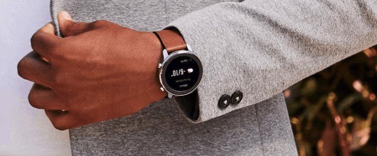 smartwatch redondo moderno