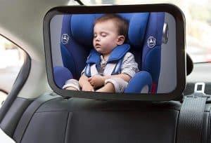 espejo retrovisor para bebé