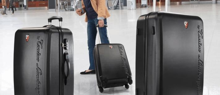 set de maletas negras