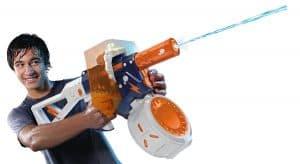 pistola NERF de agua