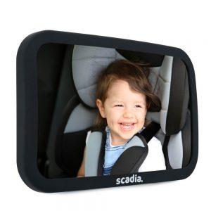 espejo retrovisor para bebé grande
