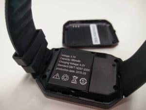 batería del smartwatch