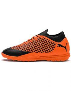 zapatillas de fútbol naranjas